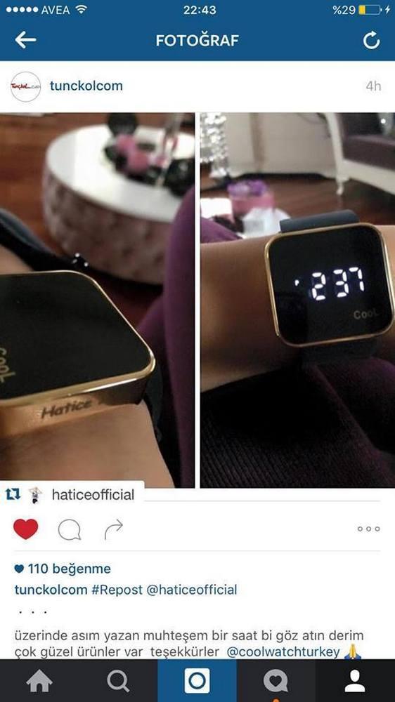 Gold Altın Saat